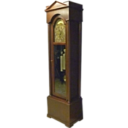 Mahogany Tall Grandfather Clock by Herschede