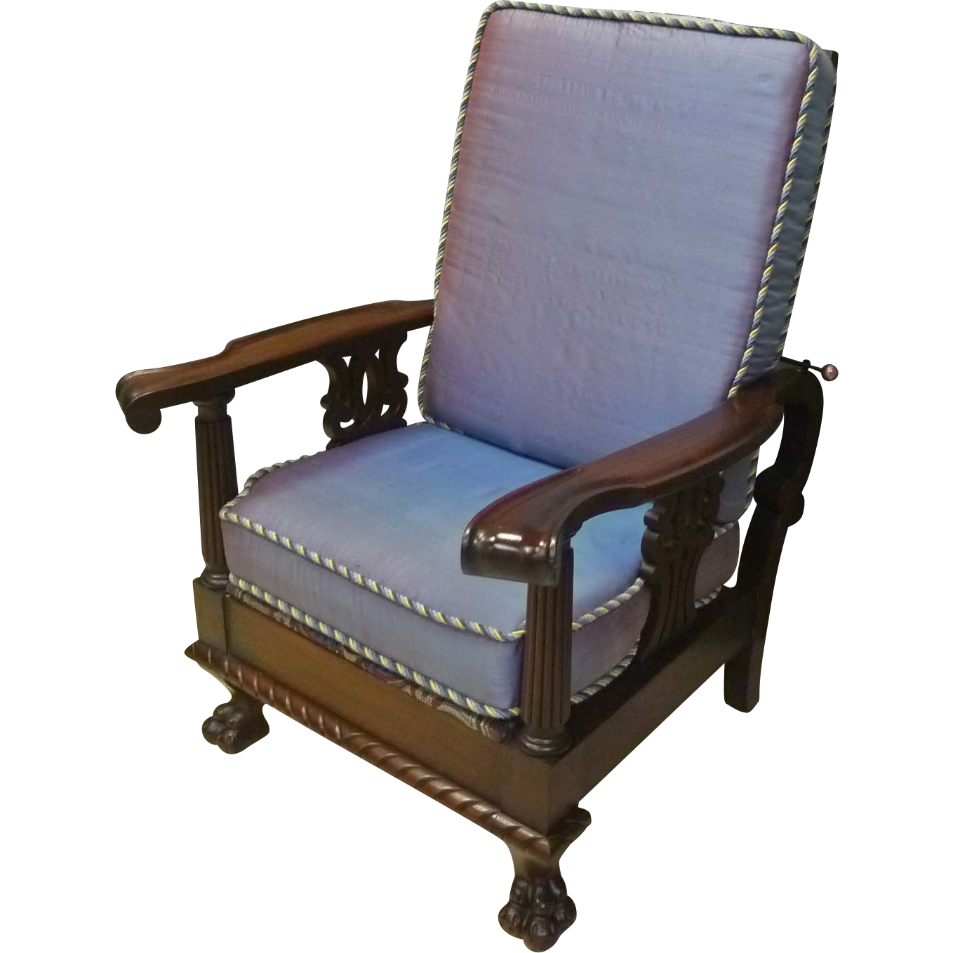 Mahogany Morris Chair, Recliner