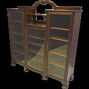 3 Door Bookcase by Horner