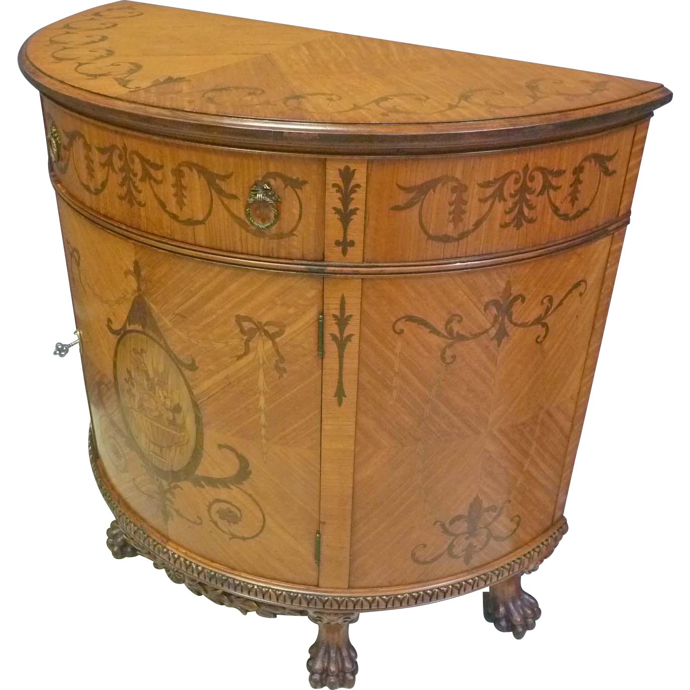 Inlaid Console Server Cabinet