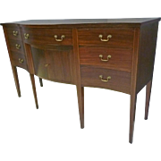 Mahogany Hepplewhite Sideboard, Server