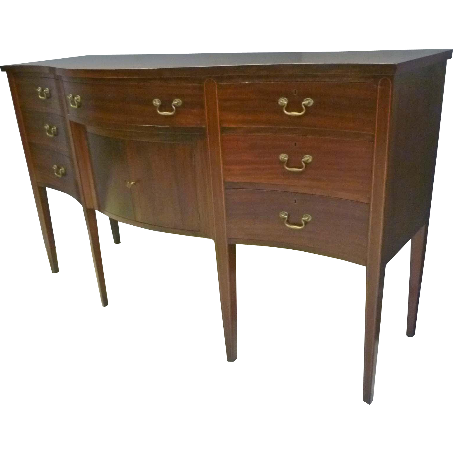 Mahogany Hepplewhite Sideboard, Server from antiquesonhanover on ...