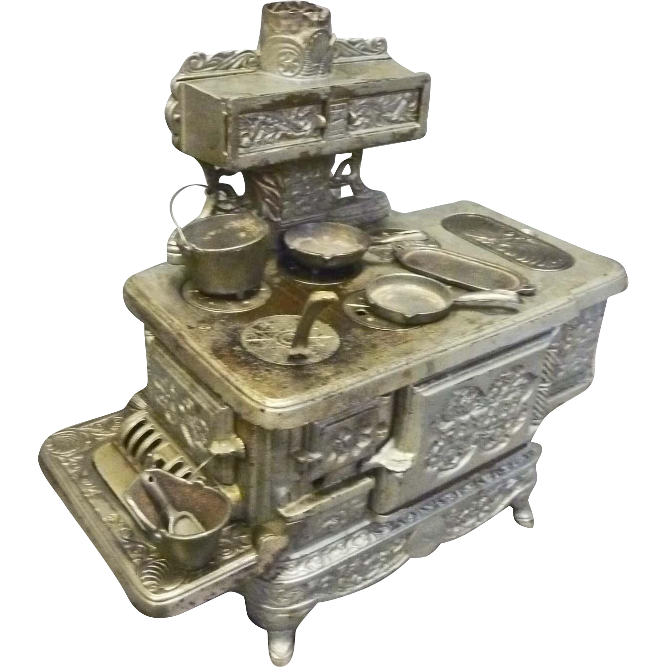 Child's Cast Iron Toy Stove - Rival