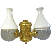 Double Angle Lamp Sconce