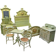 Painted Cottage Bedroom Set, Victorian