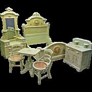 Painted Cottage Bedroom Set, Victorian