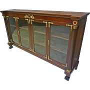 French Empire, Classical Bookcase