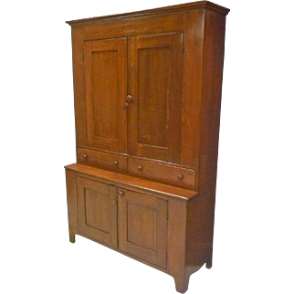 Early Step Back Cupboard, Bookcase