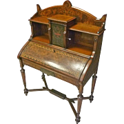 Victorian Inlaid Desk