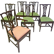 Set of 6 Potthast Brothers Dining Chairs