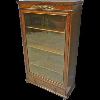 One Door, Oak Bookcase