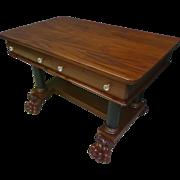 Mahogany Empire Writing Desk