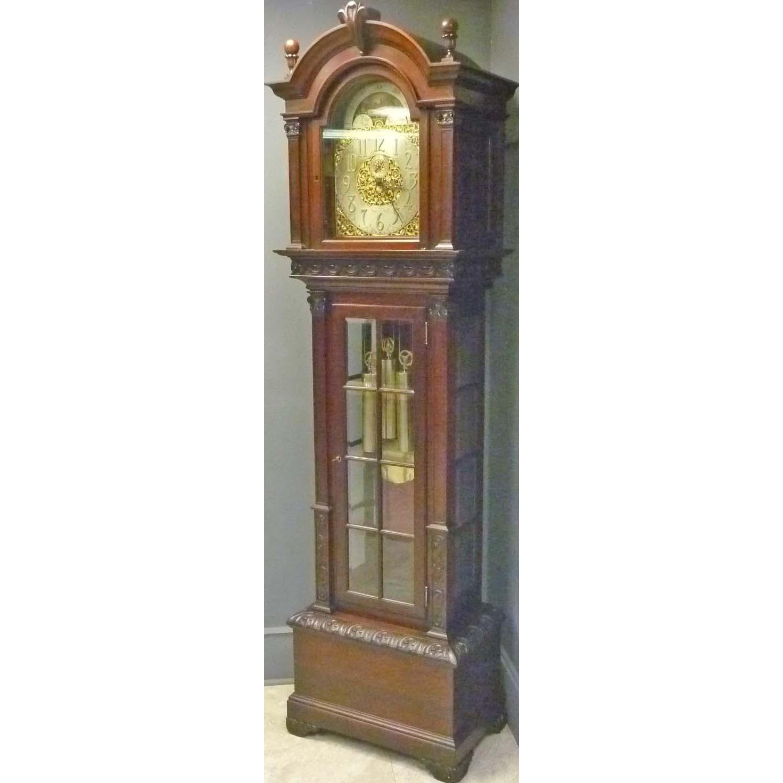 Mahogany Grandfather Clock by Seth Thomas