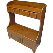 Country Pine Bucket Bench