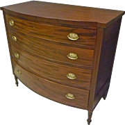 Mahogany Sheraton Chest of Drawers, Dresser