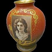 Royal Bonn Portrait Vase