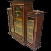 Victorian 3 Door Bookcase