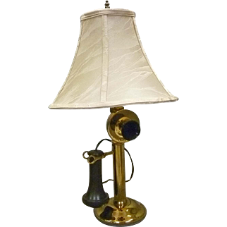 Candlestick Telephone Lamp