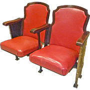 Pair of Theatre Seats
