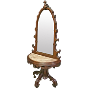 Marble Top Hall Mirror