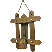 Wall Hanging Match Safe