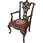 Centennial Mahogany Chippendale Armchair
