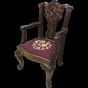 Centennial Mahogany Chippendale Armchair