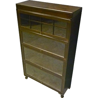 Stacking Barrister Bookcase by Gunn