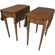 Pair Pembroke End Tables