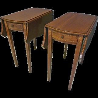 Pair Pembroke End Tables