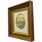 Walnut Victorian Picture Frame