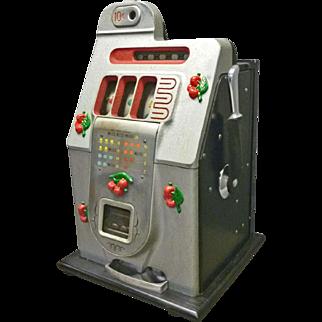 "Mills ""Black Cherry Bell"" 10 cent Slot Machine"