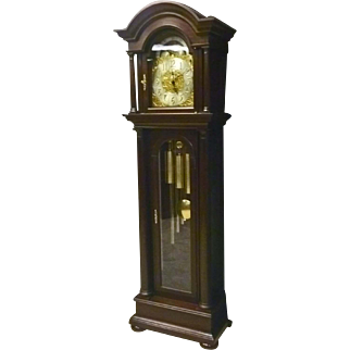 Waltham Mahogany Grandfather Clock