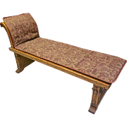 Oak Window Bench, Day Bed, Chaise Lounge