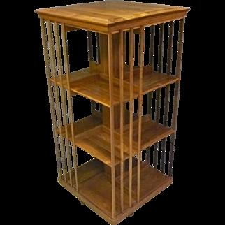 Tall Custom Revolving Bookcase