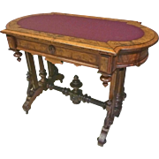 Victorian Library Table, Desk