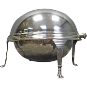 Silver Plate Breakfast or Food Warmer