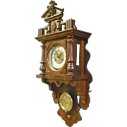 German Freeswinger Wall Clock