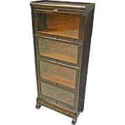 Narrow Barrister Bookcase by Lundstrom