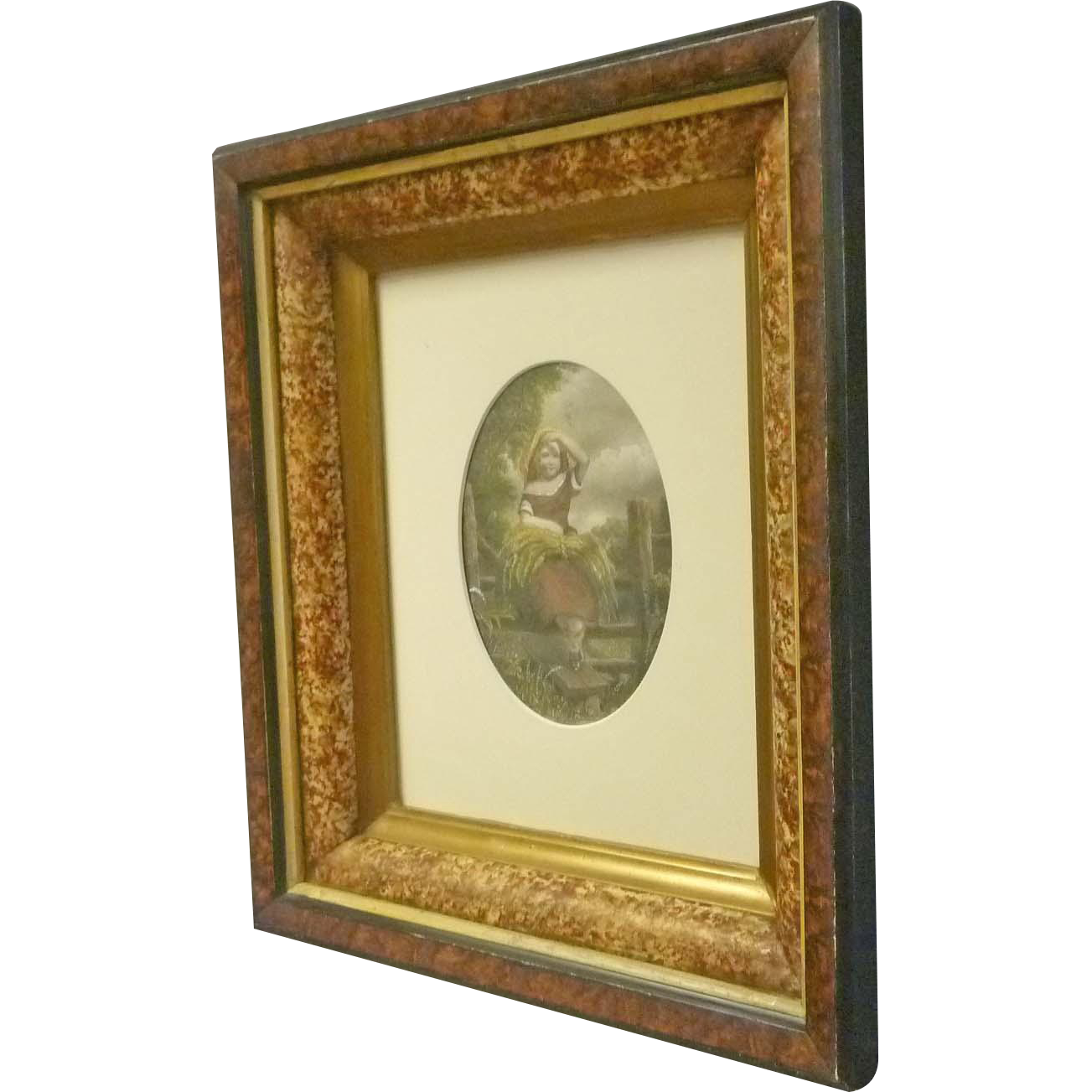 Victorian Frame with Faux Marble