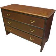 Early Painted Mule, Blanket Chest