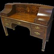 Mahogany Carlton Desk
