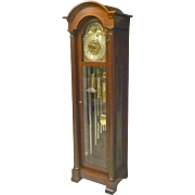 Tall Case Grandfather Clock by Elliott