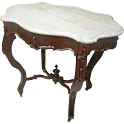 Small Turtle Top Victorian Table