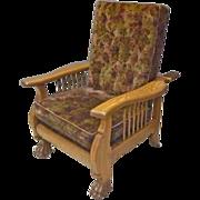 Oak Reclining Morris Chair