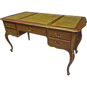 Chinoisserie Red Desk by Drexel