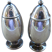 Vintage Georg Jensen Sterling Salt And Pepper Shakers