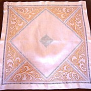 Gold Silk Embroidered Supper Cloth