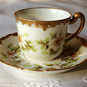 Limoge Demitasse Set