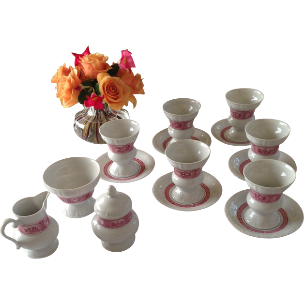 rudesheimer kaffee set from antiquesvonlitzenberg on ruby lane. Black Bedroom Furniture Sets. Home Design Ideas